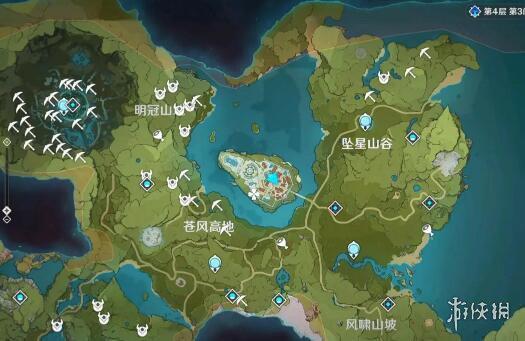 《原神》白铁矿哪里多?白铁矿位置一览
