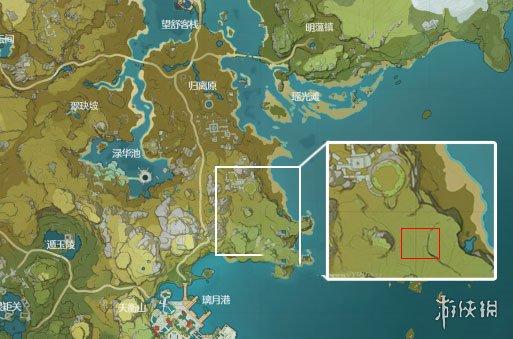 《原神手游》地脉淤积点在哪里 地脉淤积点位置介绍