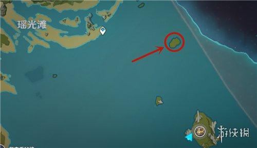 《原神手游》爱心岛在哪 爱心岛位置