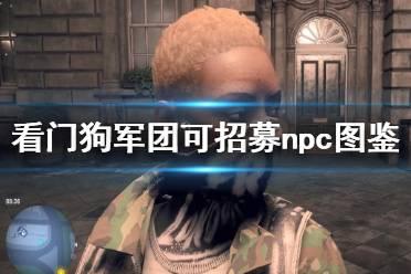 《看门狗军团》哪些npc值得招募 部分可招募npc图鉴汇总