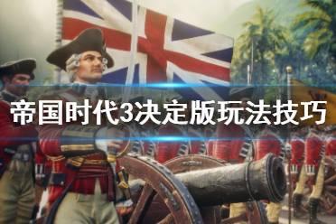 《帝国时代3决定版》玩法技巧要点讲解 战术技巧有哪些?