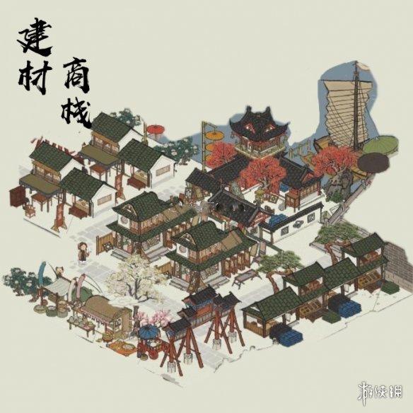 《江南百景图》杭州木头采集点 杭州木头在哪采集