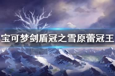 《宝可梦剑盾》蕾冠王怎么抓 冠之雪原蕾冠王获得方法