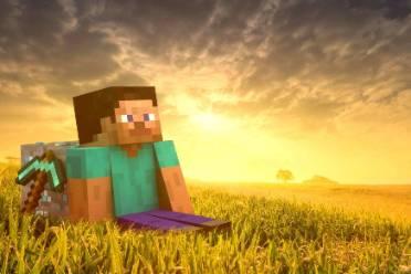 《我的世界》幸运的方块建造视频
