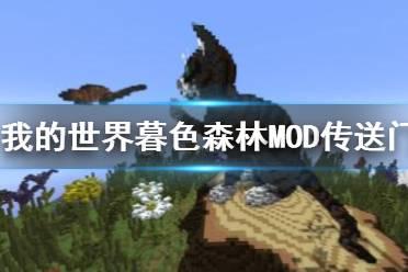 《我的世界》暮色森林MOD传送门制作教程