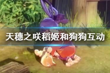 《天穗之咲稻姬》和狗狗互动演示视频 游戏好玩吗?