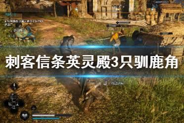 《刺客信条英灵殿》驯鹿角怎么获得?3只驯鹿角获得方法视频