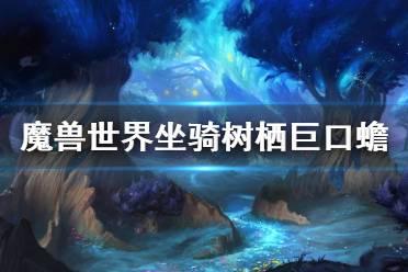 《魔兽世界》9.0树栖巨口蟾怎么获得 坐骑树栖巨口蟾获得方法
