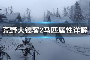 《荒野大镖客2》马匹属性怎么看 马匹属性详解