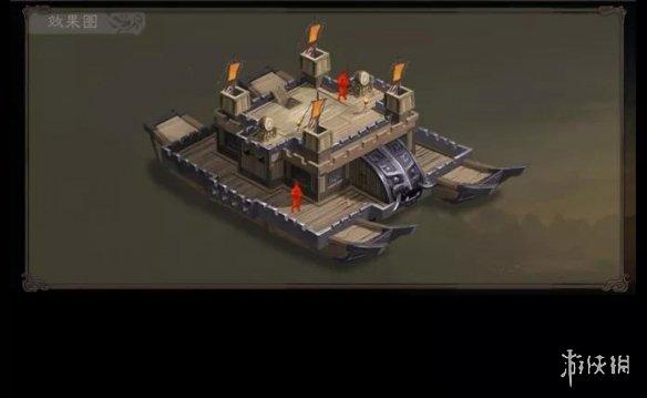 三国志战略版楼船特性介绍 赤壁之战水战楼船有什么用