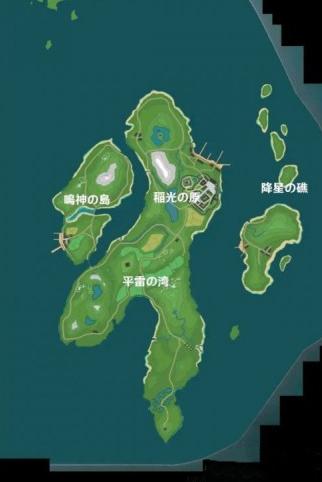 原神1.4稻妻城地图介绍 原神稻妻城地图在哪
