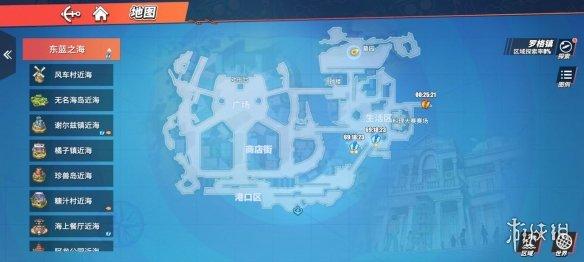 《航海王热血航线》藏宝图位置大全 藏宝图在哪里