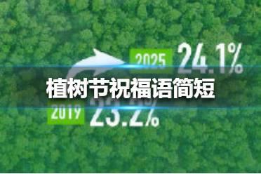 植树节祝福语有哪些 2021年植树节祝福语大全