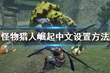 《怪物猎人崛起》中文怎么设置 中文设置方法