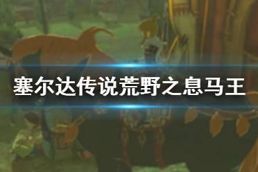 《塞尔达传说荒野之息》马王去哪抓 马王任务流程