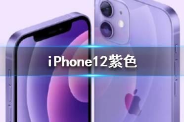 苹果发布紫色iPhone12 iPhone12紫色