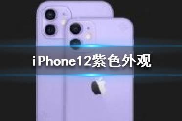 iPhone12紫色外观 苹果12紫色好看吗