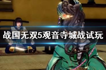 《战国无双5》观音寺城战试玩视频 战斗场景效果如何?