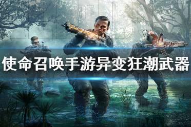 《使命召唤手游》异变狂潮武器推荐 异变狂潮用什么枪
