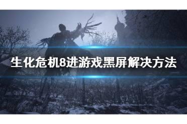 《生化危机8》进游戏黑屏怎么办 进游戏黑屏解决方法