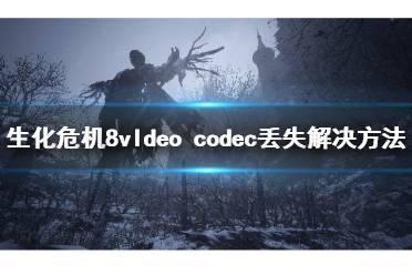 《生化危机8》vldeo codec找不到怎么办?vldeo codec丢失解决方法