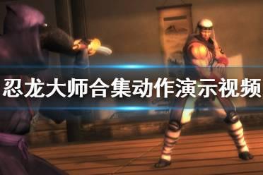《忍龙大师合集》动作演示视频 战斗效果怎么样?