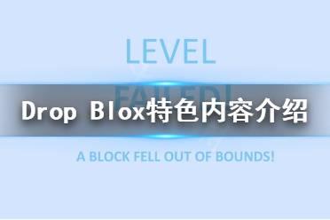 《Drop Blox》好玩吗?游戏特色内容介绍