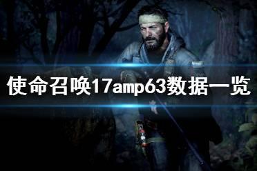 《使命召唤17》amp63好用吗?amp63数据一览