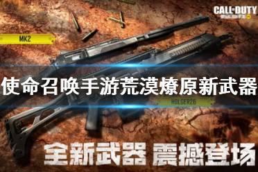 《使命召唤手游》荒漠燎原新武器介绍 6月11日新武器mk2Holger26