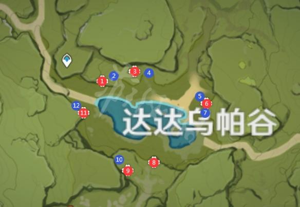 《原神》萃华木在哪里采集?萃华木砍伐路线推荐