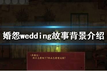 《婚怨》游戏背景是什么?wedding故事背景介绍