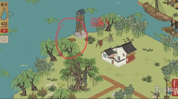 《江南百景图》钱塘春行宝箱在哪 钱塘春行宝箱位置