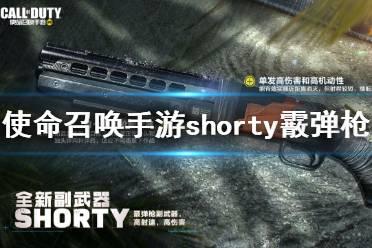 《使命召唤手游》Shorty怎么样 Shorty原型介绍