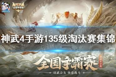 《神武4手游》135级淘汰赛集锦 135级淘汰赛阵容
