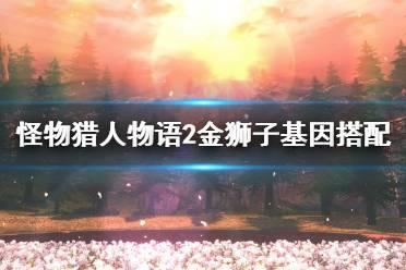 《怪物猎人物语2》金狮子基因搭配视频分享 金狮子基因怎么配?