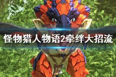 《怪物猎人物语2》牵绊大招流怎么打?牵绊大招流打法心得