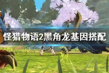 《怪物猎人物语2》黑角龙基因怎么搭配?黑角龙基因搭配推荐
