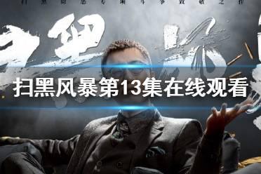 扫黑风暴第13集在线观看 扫黑风暴第13集免费观看