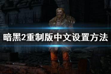 《暗黑破坏神2重制版》中文怎么设置?中文设置方法介绍