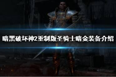 《暗黑破坏神2重制版》圣骑士暗金装备有哪些?圣骑士暗金装备介绍
