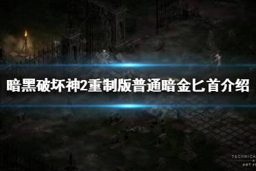 《暗黑破坏神2重制版》普通暗金匕首有哪些?普通暗金匕首介绍
