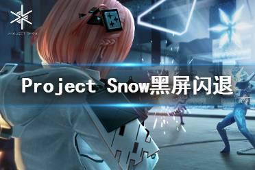 《Project Snow》黑屏闪退怎么办 黑屏闪退解决方法