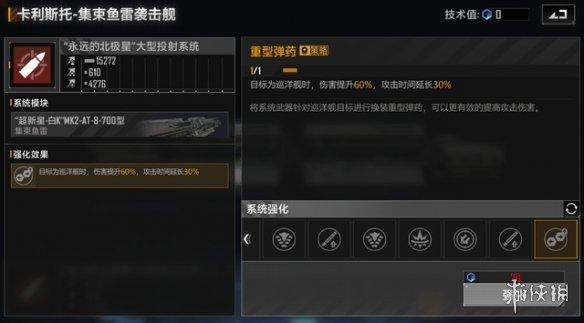 《无尽的拉格日》战列舰加点指南 战列舰技术值加点攻略