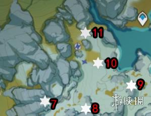《原神》肃霜之路宝箱大全 肃霜之路宝箱在哪(图4)