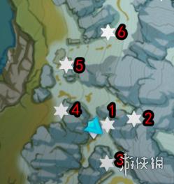 《原神》肃霜之路宝箱大全 肃霜之路宝箱在哪(图3)
