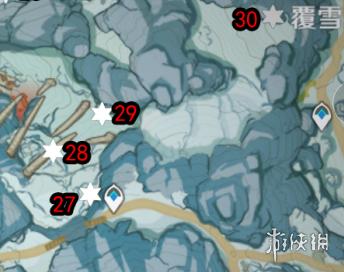 《原神》肃霜之路宝箱大全 肃霜之路宝箱在哪(图8)