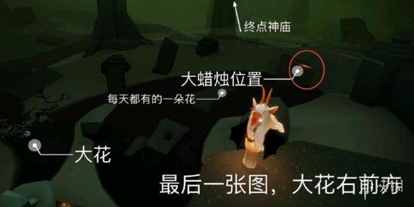 《光遇》大蜡烛10.5位置 10月5日大蜡烛在哪(图5)