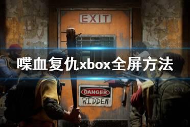 《喋血复仇》微软版怎么全屏?xbox全屏方法介绍