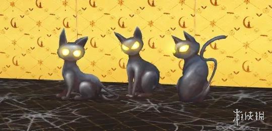《明日之后》万圣节家具2021 10月28日新增好奇黑猫门南瓜幻夜家具展示