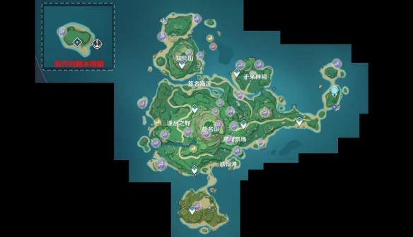 《原神》2.2雷神瞳有多少个 鹤观岛雷神瞳分布图